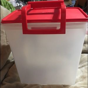 BN Tupperware Carry-All Storage Container Large
